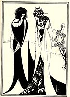 Salome with her mother, 1894, beardsley