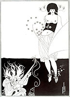 The Stomach Dance, 1894, beardsley