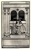 The Story of Venus and Tannhaeuse, frontispiece, beardsley
