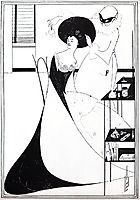 The Toilet of Salome, 1894, beardsley