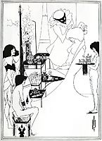 The Toilette of Salome, beardsley