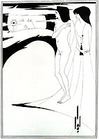 The Woman in the Moon, 1894, beardsley