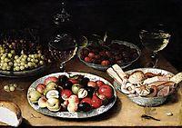 Still Life of Fruit, 1610, beert
