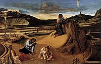 The Agony in the Garden, c.1459, bellini