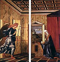 The Annunciation, 1500, bellini
