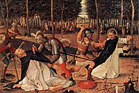 The Assassination of St. Peter Martyr, 1509, bellini