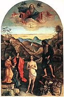 Baptism of Christ, 1500-1502, bellini