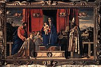 Barbarigo Altarpiece, 1488, bellini