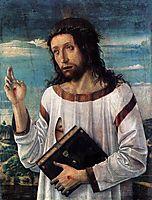 Christ Blessing, c.1460, bellini