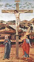 Crucifix, 1455, bellini