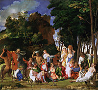 The Feast of the Gods, 1514, bellini