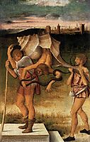 Four Allegories Falsehood (Wisdom), c.1490, bellini