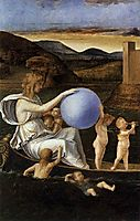 Four Allegories: Fortune (or Melancholy), c.1490, bellini