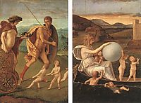 Four Allegories: Perseverance and Fortune, 1490, bellini