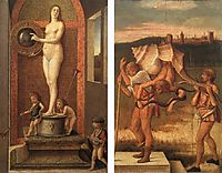 Four Allegories: Prudence and Falsehood, 1490, bellini