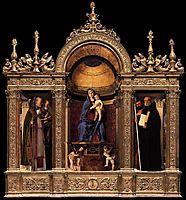 Frari Triptych, 1488, bellini