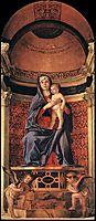 Frari Triptych, detail, 1488, bellini