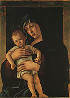 Greek Madonna, 1460, bellini