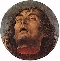 Head of the Baptist, 1464-1468, bellini