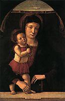 Madonna with Child, 1455, bellini
