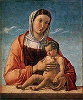 Madonna with the Child, 1464, bellini