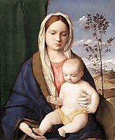 Madonna and child, c.1510, bellini