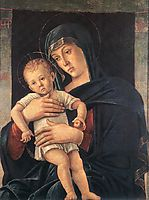 Madonna with the Child, 1460-1464, bellini