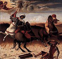 Pesaro Altarpiece (predella), 1474, bellini
