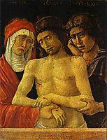 Pieta with the Virgin and St. John the Evangelist, bellini