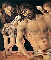 Pieta, detail 1, 1474, bellini