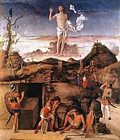 Resurrection of Christ, 1475-1479, bellini