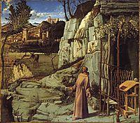 Saint Francis in Ecstasy, 1480-1485, bellini