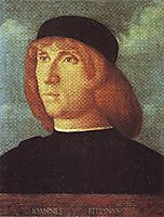 Self-portrait, 1487, bellini