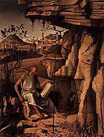St. Jerome in the Desert, c.1480, bellini