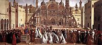 St. Mark Preaching in Alexandria, 1507, bellini