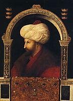 Sultan Mehmet II., 1480, bellini