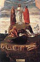 Transfiguration of Christ, 1455, bellini