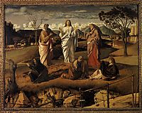 Transfiguration of Christ, c.1487, bellini