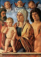 The Virgin and Child with St. Peter and St. Sebastian, c.1487, bellini