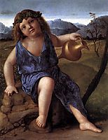 Young Bacchus, 1514, bellini