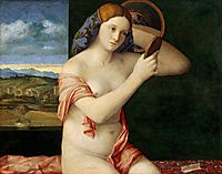 Young Woman at her Toilet, 1515, bellini