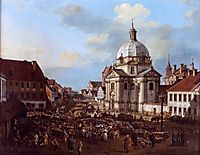 Church of the Holy Sacrament in the New Town, 1778, bellotto