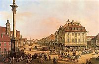 Cracow Suburb seen from the Cracow Gate, c.1768, bellotto