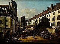 The Dominican Church in Vienna, 1758, bellotto
