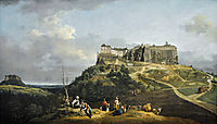 The Fortress of Konigstein, 1758, bellotto