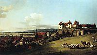 Fortress of Sonnenstein above Pirna, 1756, bellotto