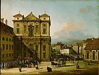 The Freyung, 1761, bellotto