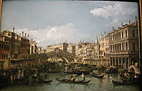 Grand canal, view from north, 1738, bellotto