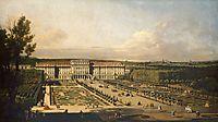 Imperial summer palace of Schönbrunn, garden façade, 1758, bellotto