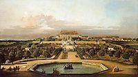 The imperial summer residence, garden, 1758, bellotto